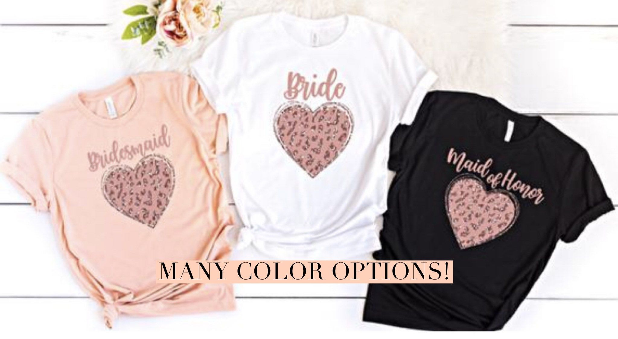 Matron of Honor Brides maid Shirt Bridesmaid Shirts for Bachelorette Party Bridal Party Shirts Getting Ready Bachlorette Party Shirts