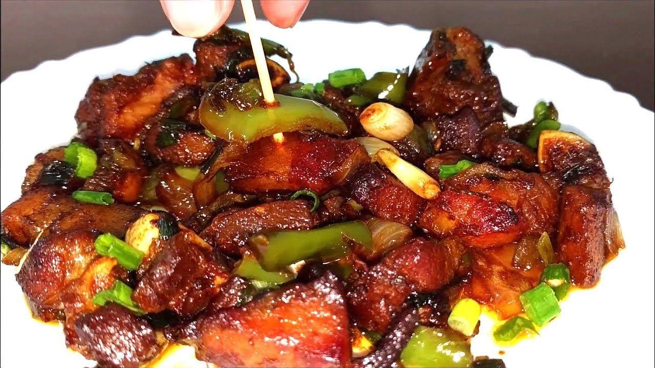 Pork Manchurian Recipe | Pork Manchuri Recipe (With images ...