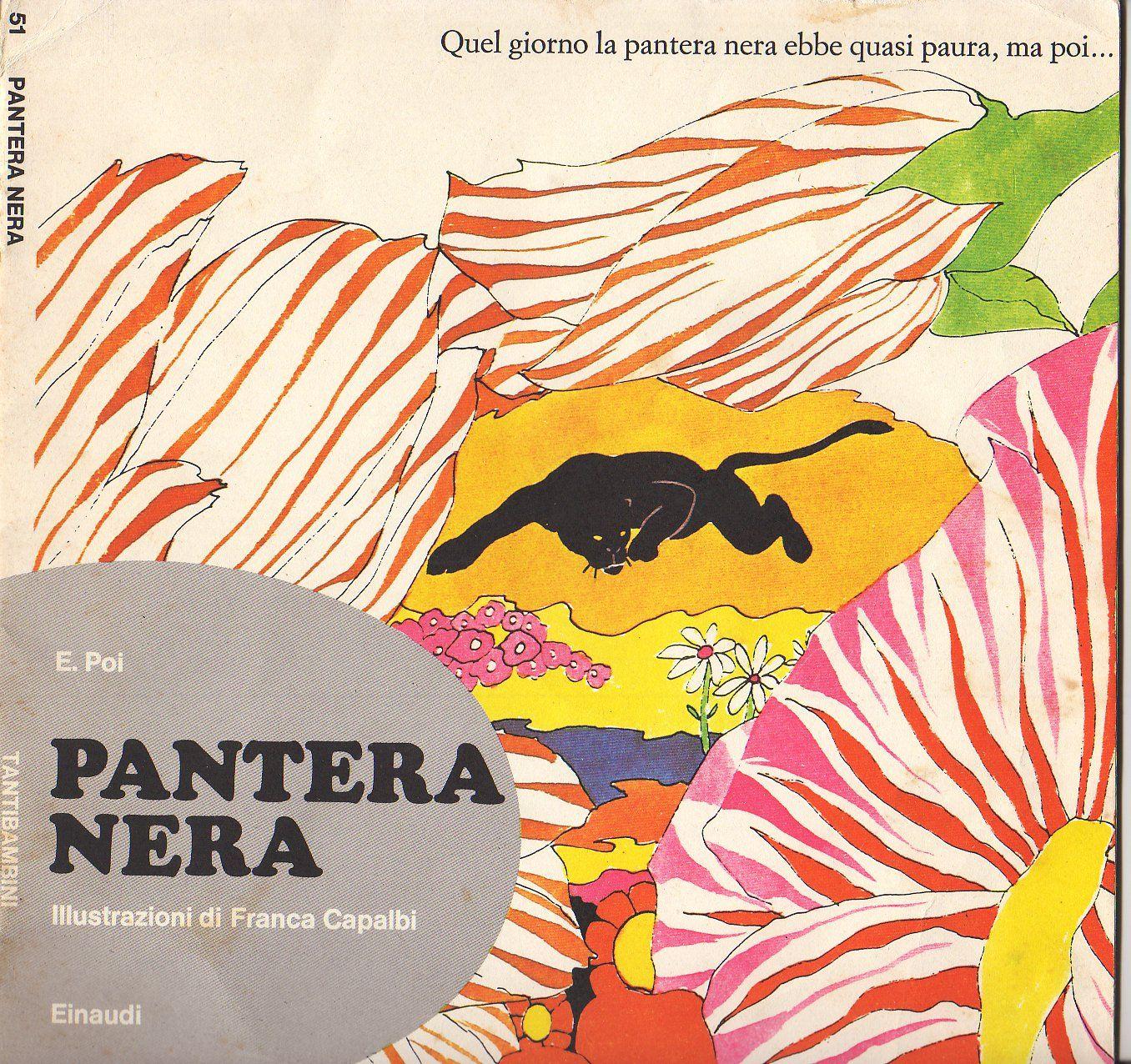 TantiBambini - Pantera nera E. Poi - Franca Capalbi copertina ...