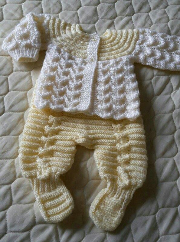 Conjunto para beb de 0 3 meses tejidos regina bebe ropa tejida para bebe y ropa bebe - Ropa bebe 0 meses ...