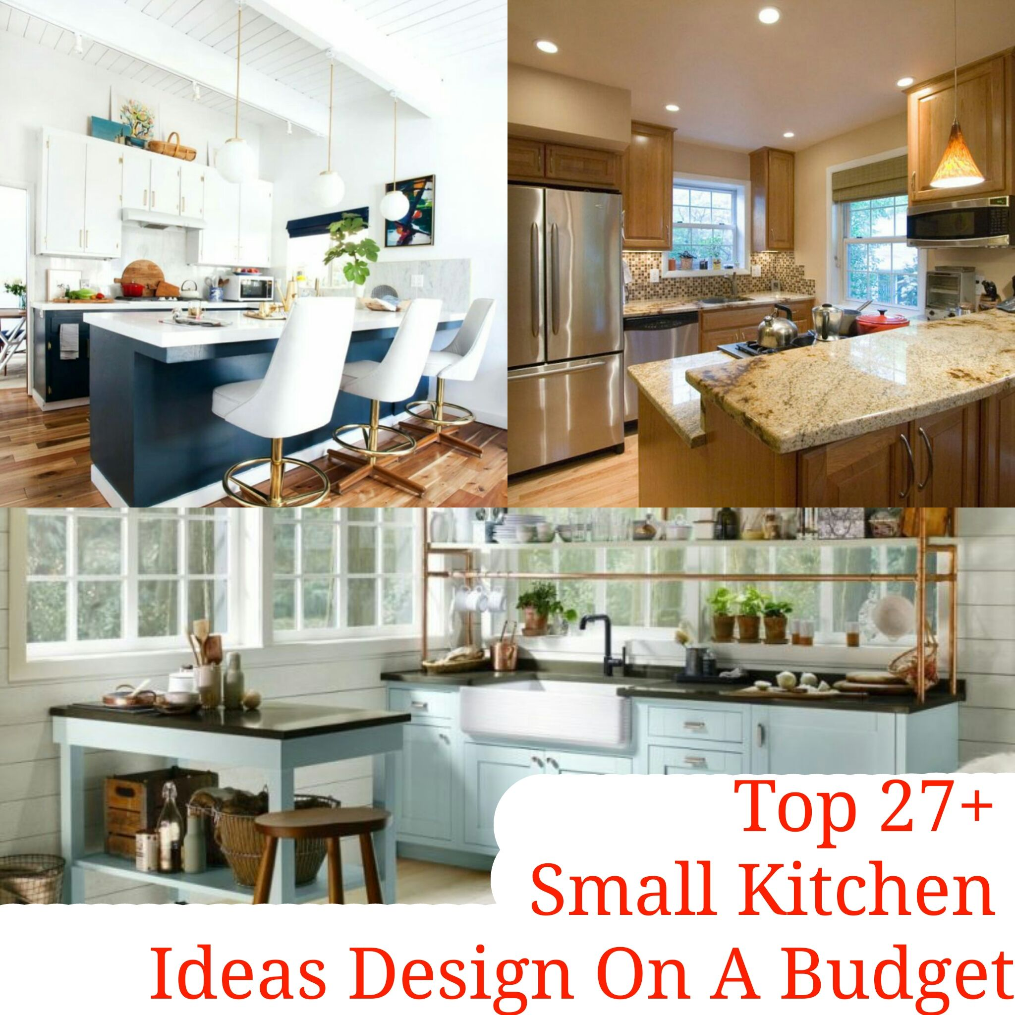Top 27 Small Kitchen Ideas Design On A Budget There S Nothing More Charming Than A Small Kitchen But Crafting A Design Kitchen Design Small Kitchen Kitchen