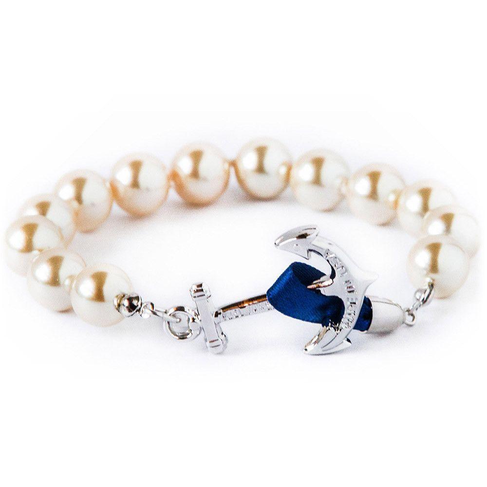 Charlotte Anchor Bracelet by Kiel James Patrick