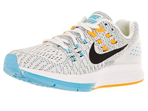 brand new fcec1 f37c3 Nike Damen W Air Zoom Structure 19 Laufschuhe, Blanco (White   Black-Lsr  Orange-Gmm Bl), 38 EU - Nike schuhe ( Partner-Link)