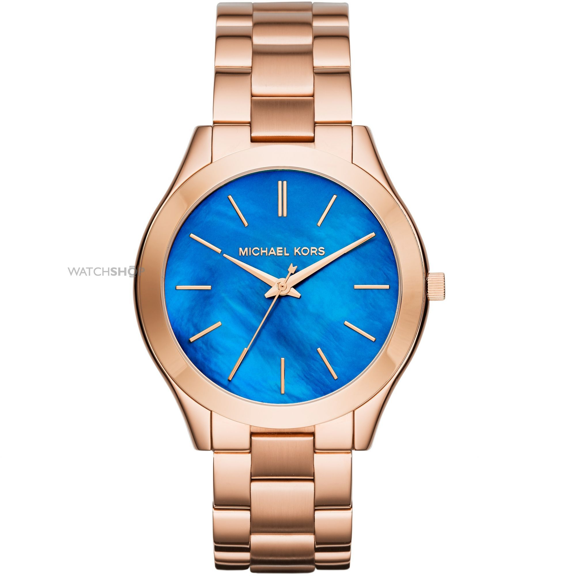 788095aa9b62 Ladies Michael Kors SLIM RUNWAY Watch MK3494