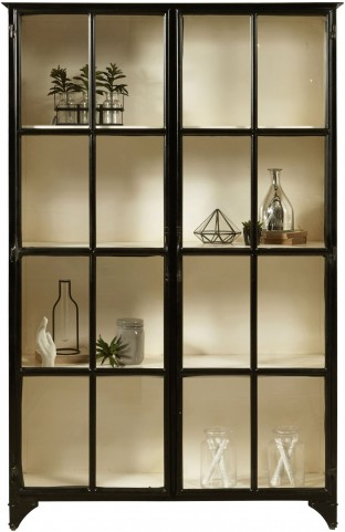Maura Metal Display Cabinet With Images Display Cabinet