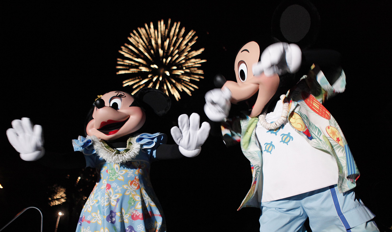 Hauoli Makahiki Hou from Aulani a Disney Resort  Spa