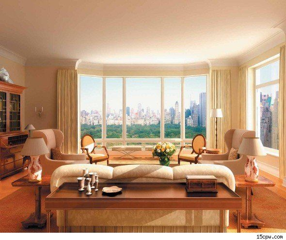 Sandy Weill S Citigroup Central Park View From His 33 Foot Wide Living Room