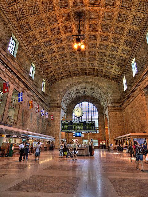 Union Station Toronto HDR by Intiaz Rahim, via Flickr