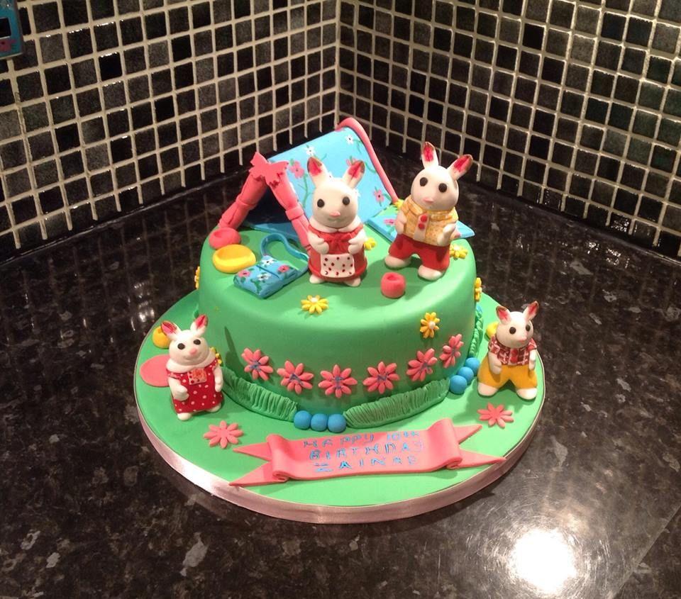 Sylvanian Family Cake Sylvanian Family Cake With