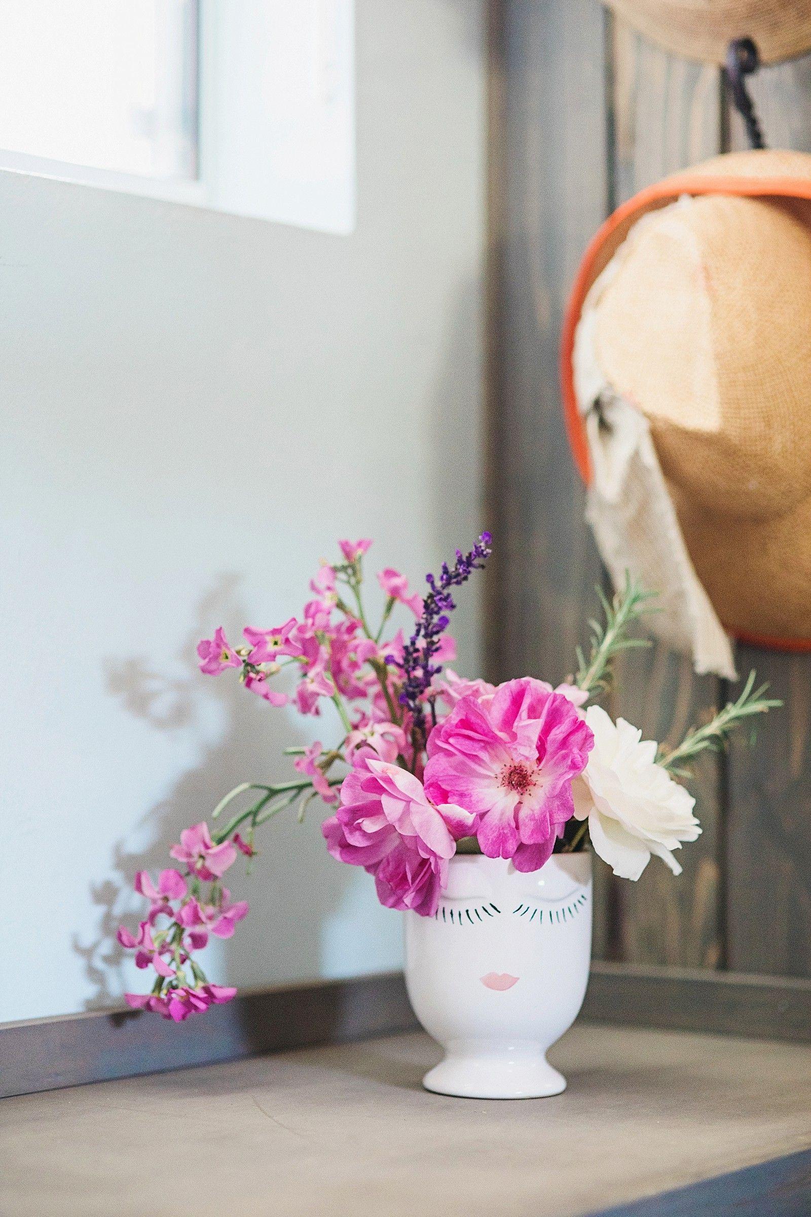 Diana Elizabeth Lifestyle Blog Style Home Decor Gardening In Phoenix Arizona Vase Design Diy Vase Vase