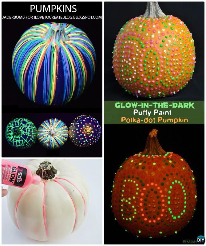 No Carve Halloween Pumpkin Decoration Diy Craft Ideas Pumpkin