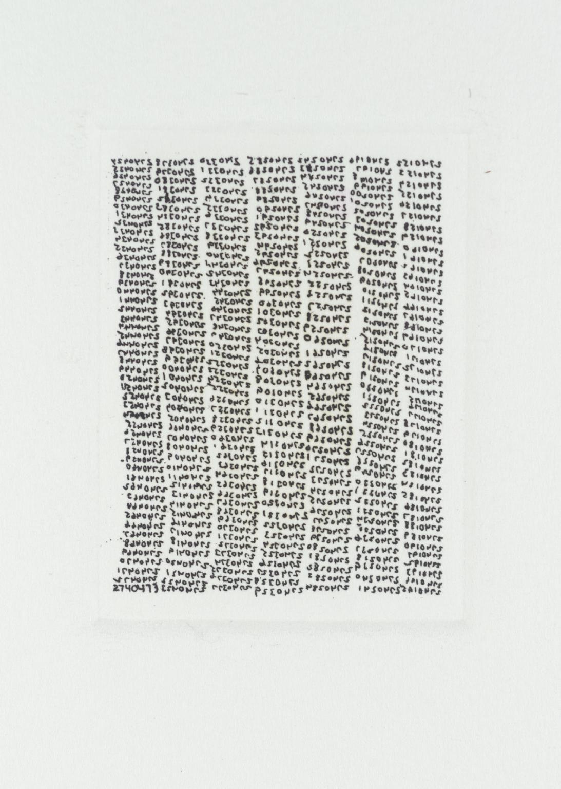 Jonathan Borofsky '[no title]', 1982 © Jonathan Borofsky. Courtesy Paula Cooper Gallery, New York