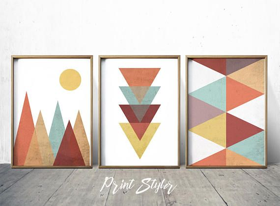 Geometric print abstract print art print art abstract art geometric wall art geometric wall decor geometric art abstract wall art