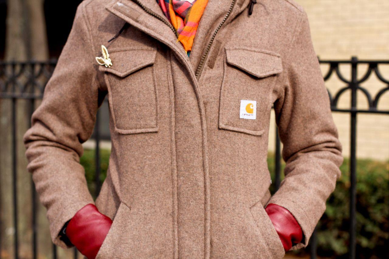 Carhartt Women S Camden Wool Parka Carhartt Jacket Carhartt [ 853 x 1280 Pixel ]
