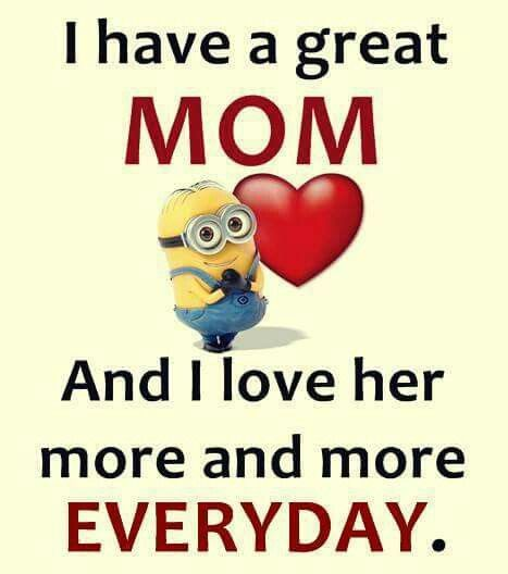 Mom's the best