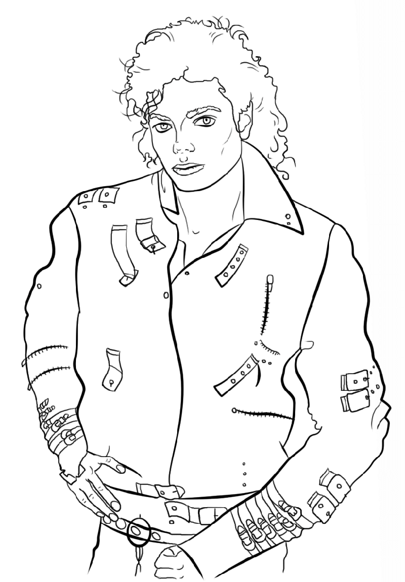 Free Michael Jackson Coloring Pages Educative Printable Michael Jackson Drawings Michael Jackson Art Photos Of Michael Jackson