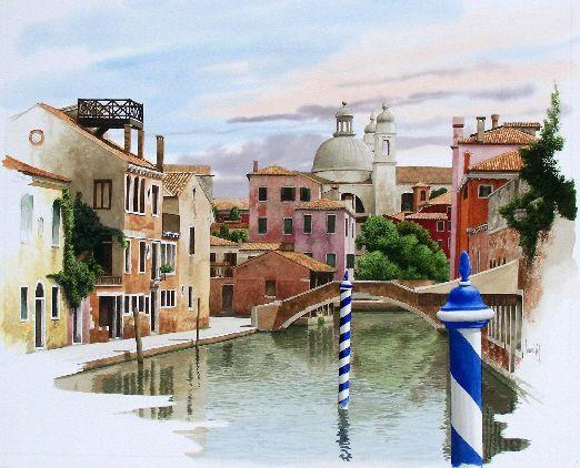 Rio Ignosenti Aquarelle Venise Carnet De Voyage