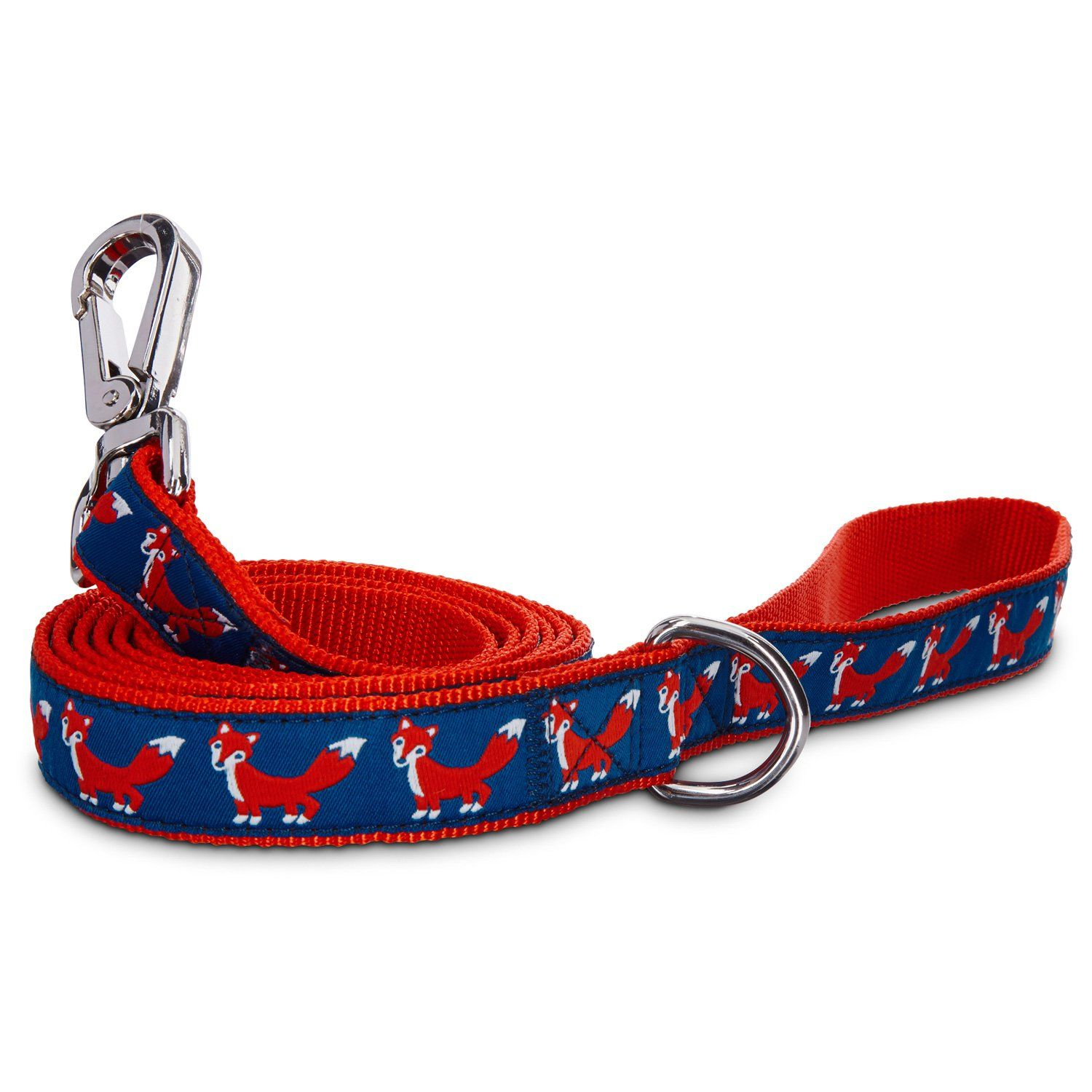 petco red fox nylon leash 6 u0027 length x 1