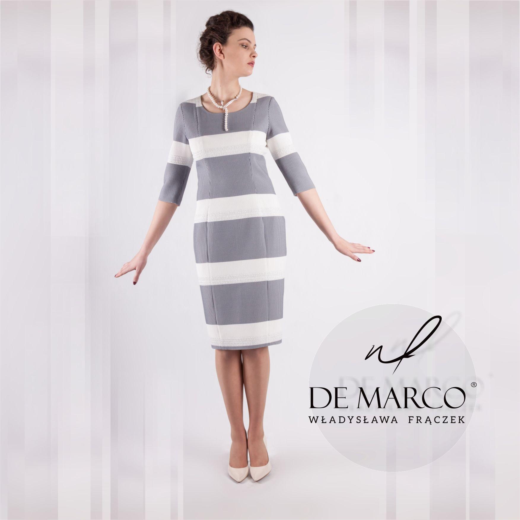 7c29dc71a5 Praktyczna i elegancka sukienka wizytowo biznesowa r.38  D  lt 3  demarco