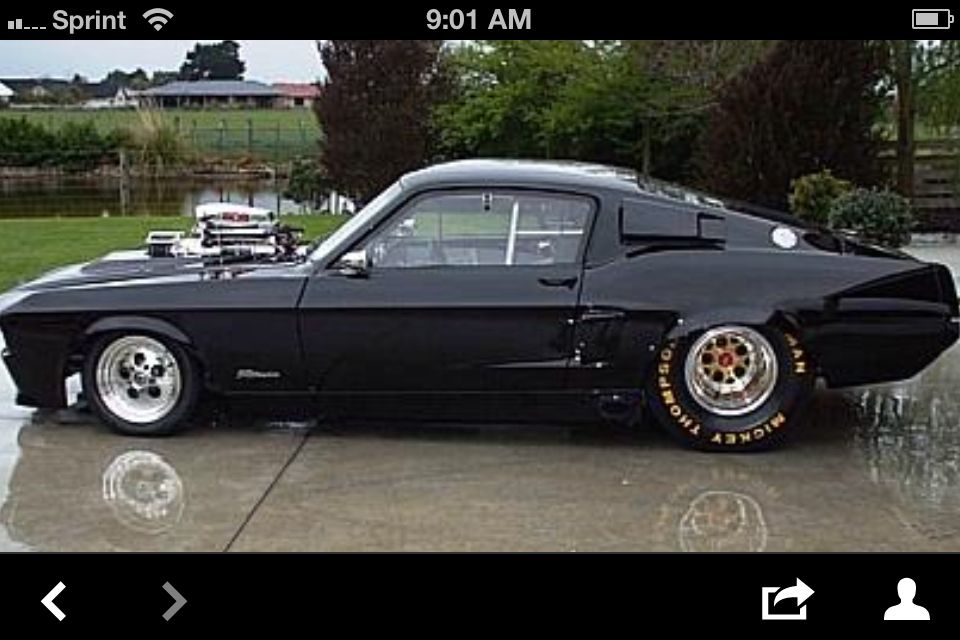 Mustang Drag Car Hot Rods Cars Muscle Old Muscle Cars Drag Cars