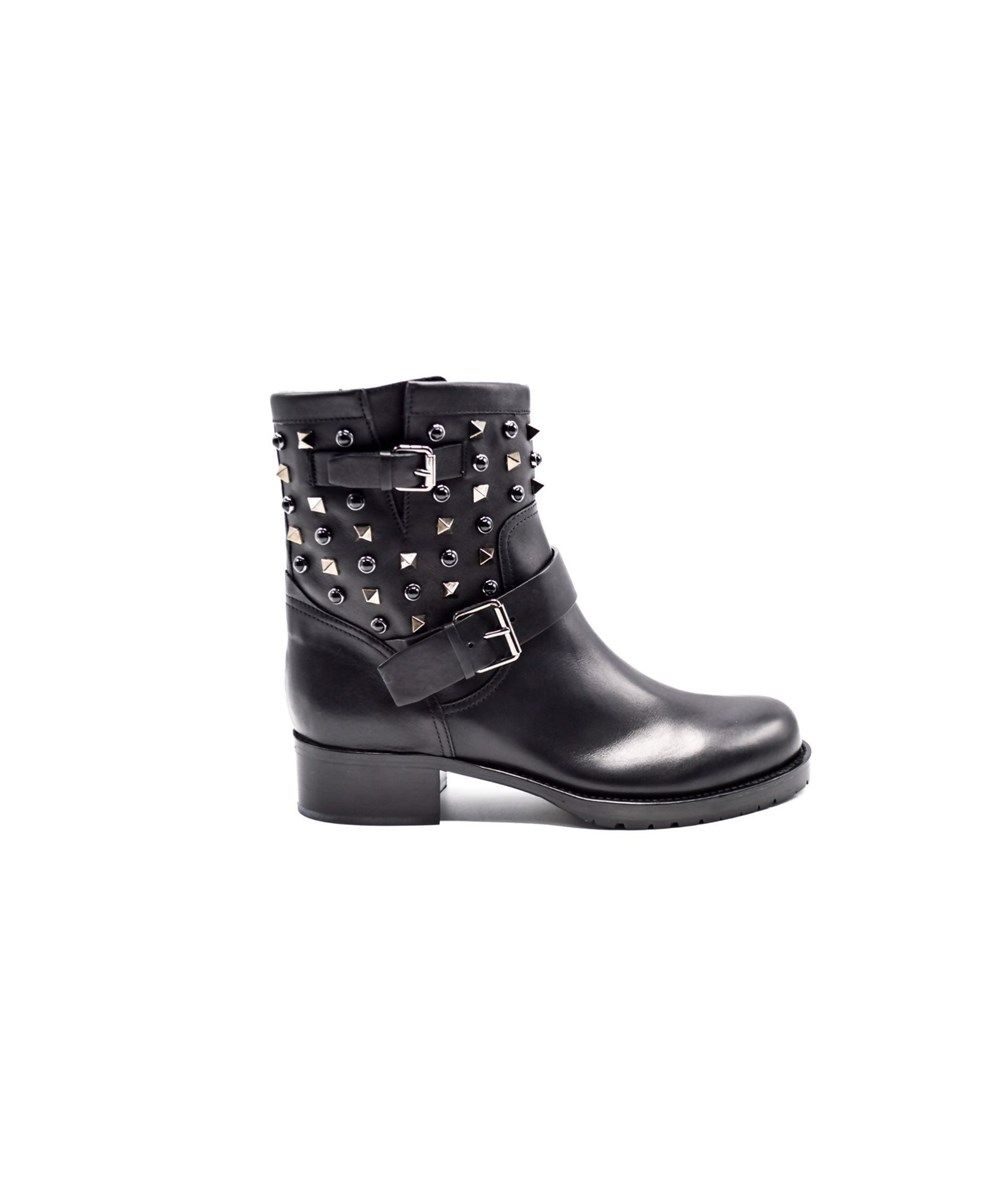 Occasion - New Bow Biker BootsValentino 0vY2Ie