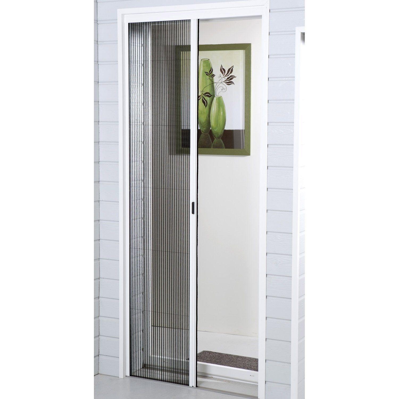 Moustiquaire Pour Porte Plissee Moustikit H 230 X L 100 Cm Moustiquaire Porte Fenetre Moustiquaire Baie Vitree
