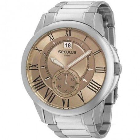 152d65652cb Relógio Seculus Masculino 48062G0STNA1