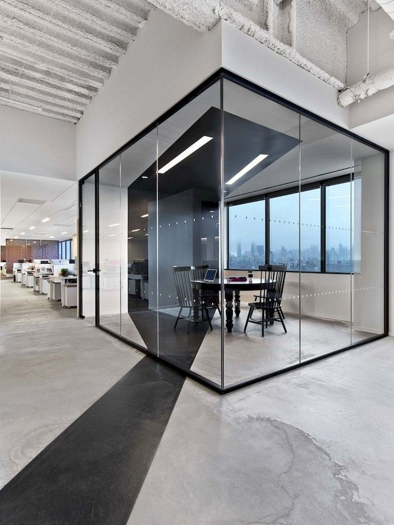 133 Amazing Modern Glass Wall Interior Design Ideas Modern Office Interiors Office Interior Design Modern Office Design