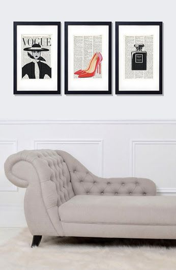 ❇❇dictionary art print set glamour 045❇❇ 26 https