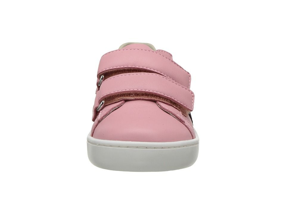 e35d4a5c679 Gucci Kids New Ace V.L. Sneakers (Toddler) Girls Shoes Red Blue  girlsshoes