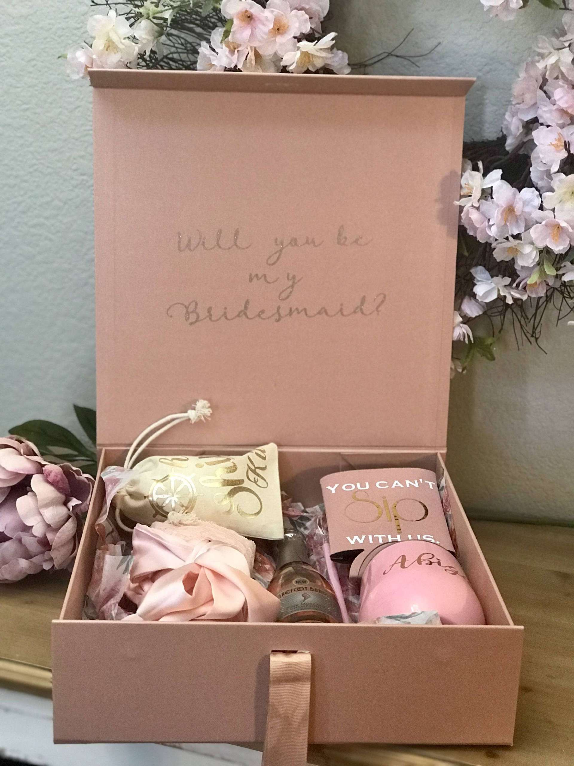 Bridesmaid Gift Bridal Gift Set Bridesmaid Proposal Bridesmaid White Deep Green Pearl Crystal Jewelry Gift Set Maid of Honor Gift
