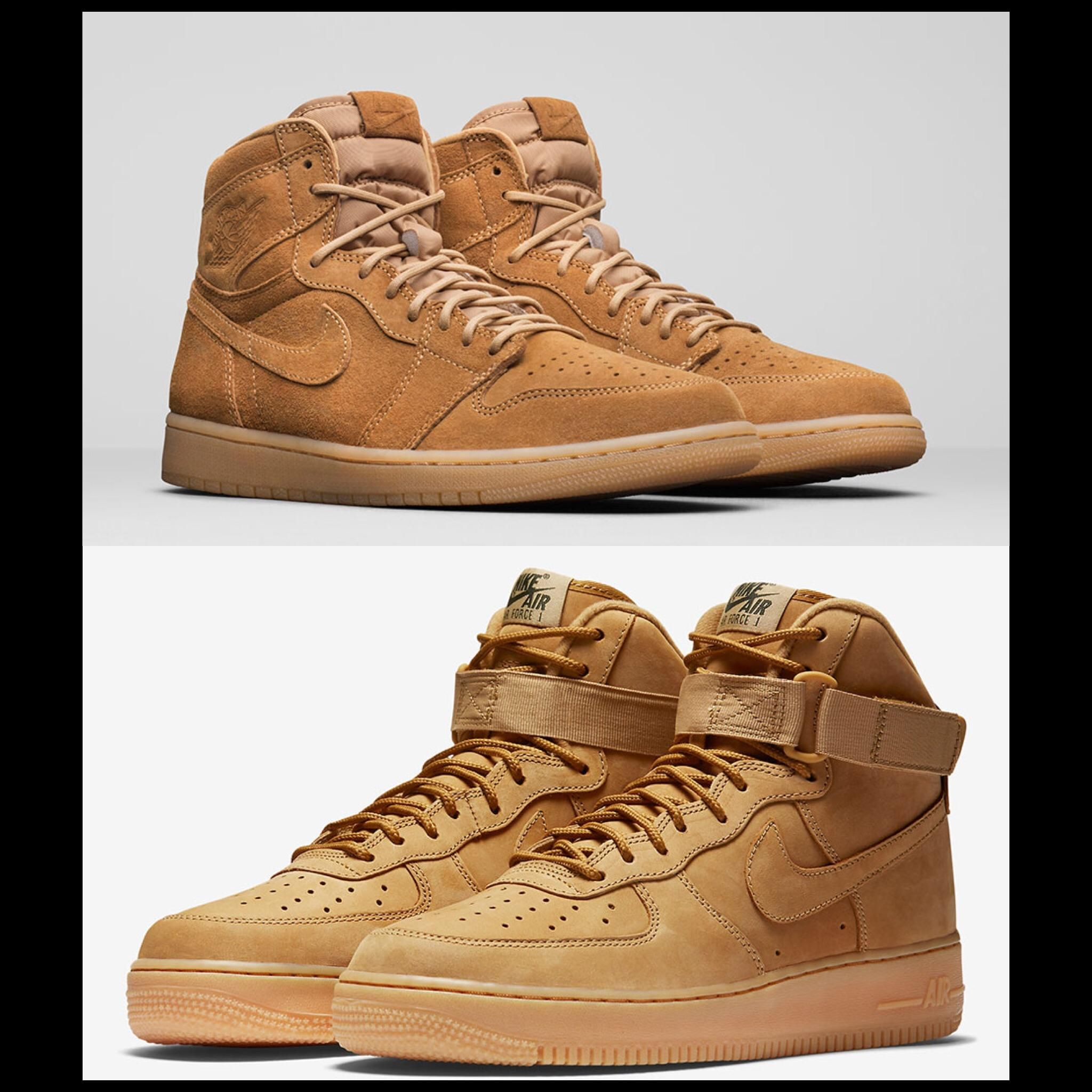 quality design 7dfc5 87af0 Opinions on which to cop  (AJ1 vs AF1 Wheat)