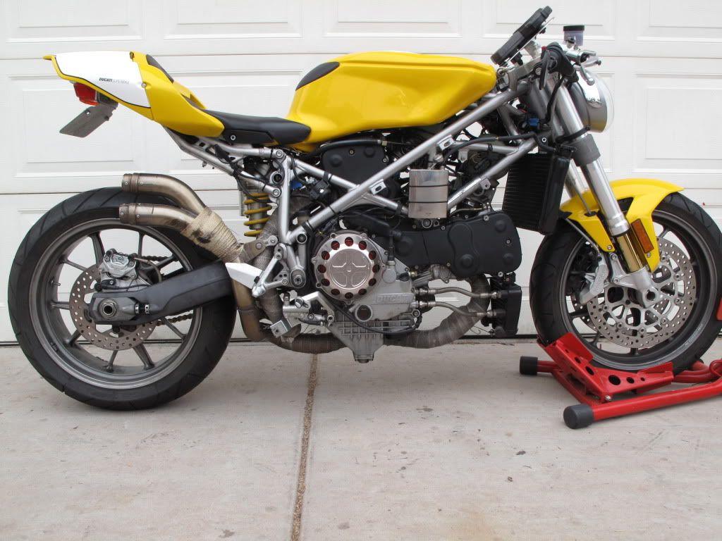 2004 Cafe Racer 999s Engine 749s Chassis 7200 Cafe Racer Bikes Cafe Racer Racer