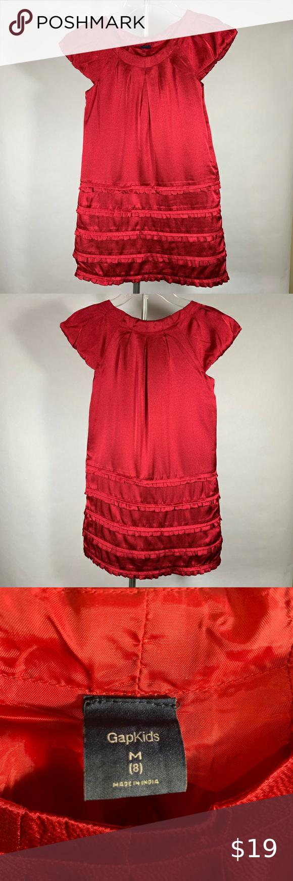 Gap Red Dress Girls Size 8 Girl Red Dress Gap Denim Dress Gap Sweater Dress [ 1740 x 580 Pixel ]