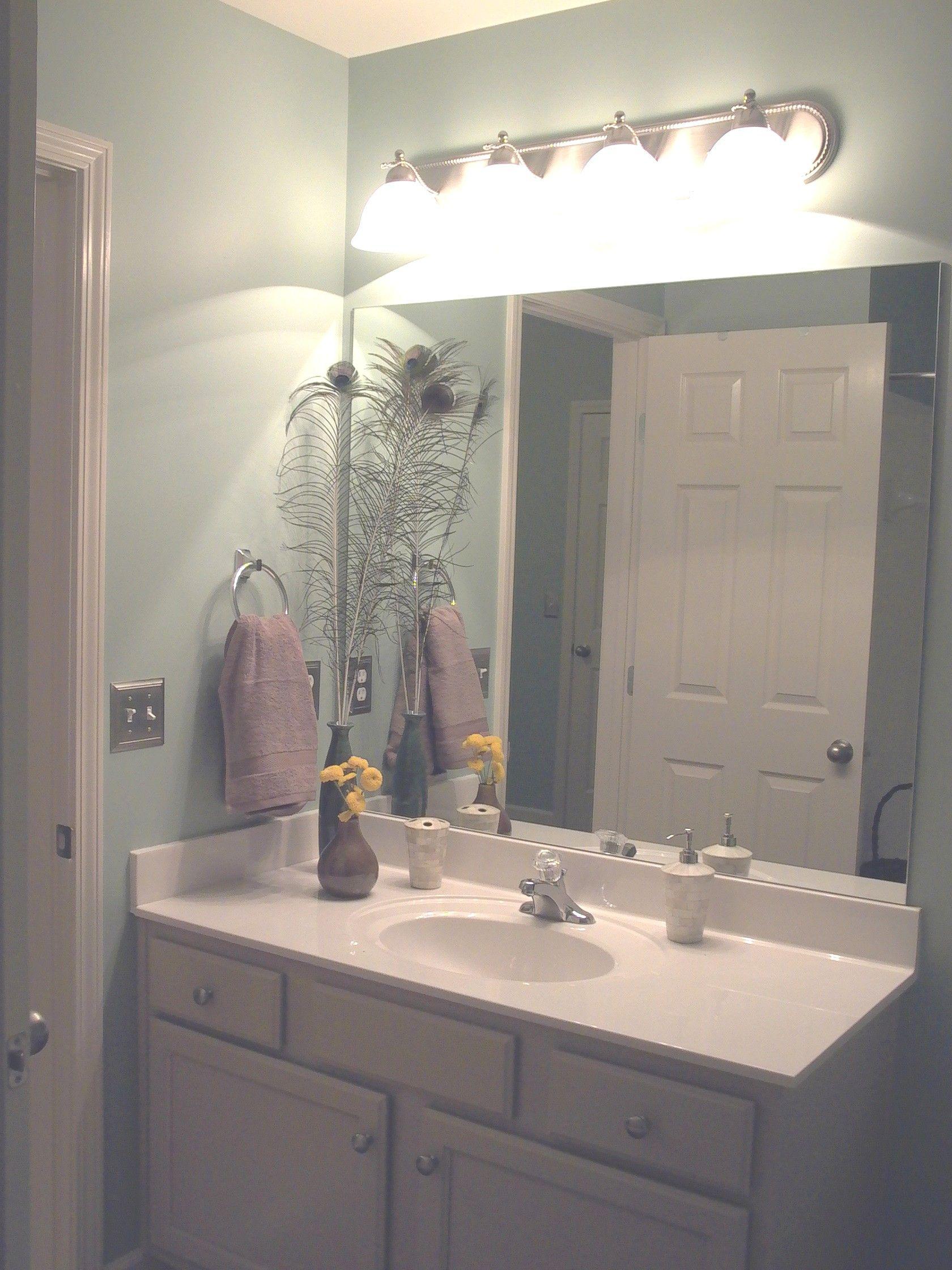 master bath  framed bathroom mirror bathroom mirror
