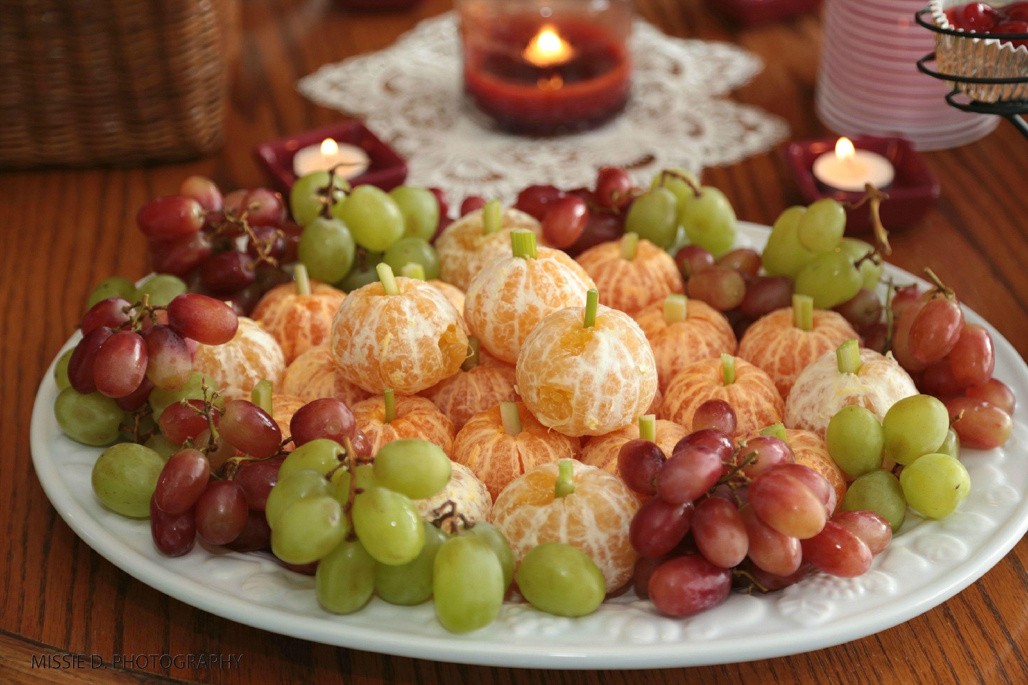 Autumn fruit tray | Food | Pinterest
