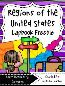 This Resource Contains All The Pages Needed To Make A Regions Of - Us natural resources map for kids