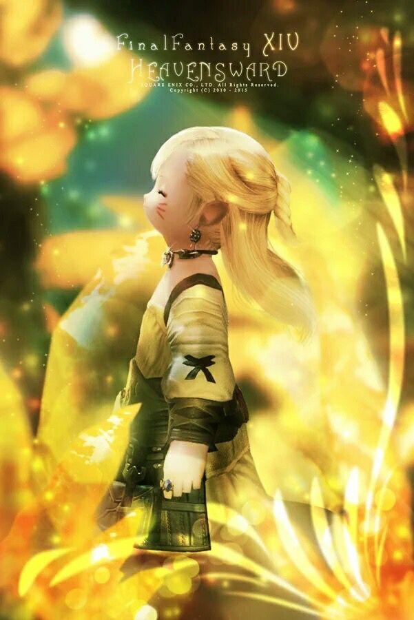 Cute FFXIV Lalafell | FFXIV | Final fantasy art, Final