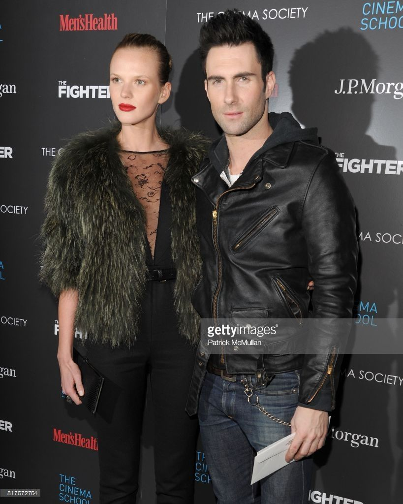 Anne V And Adam Levine Attend S The Cinema Society With Men S