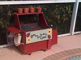 prvý záhradný pult