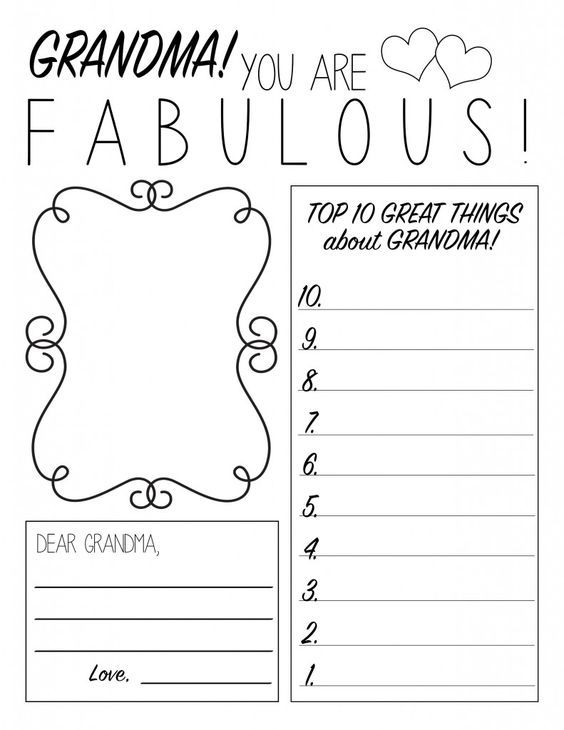 Mother\'s Day Printable Worksheet