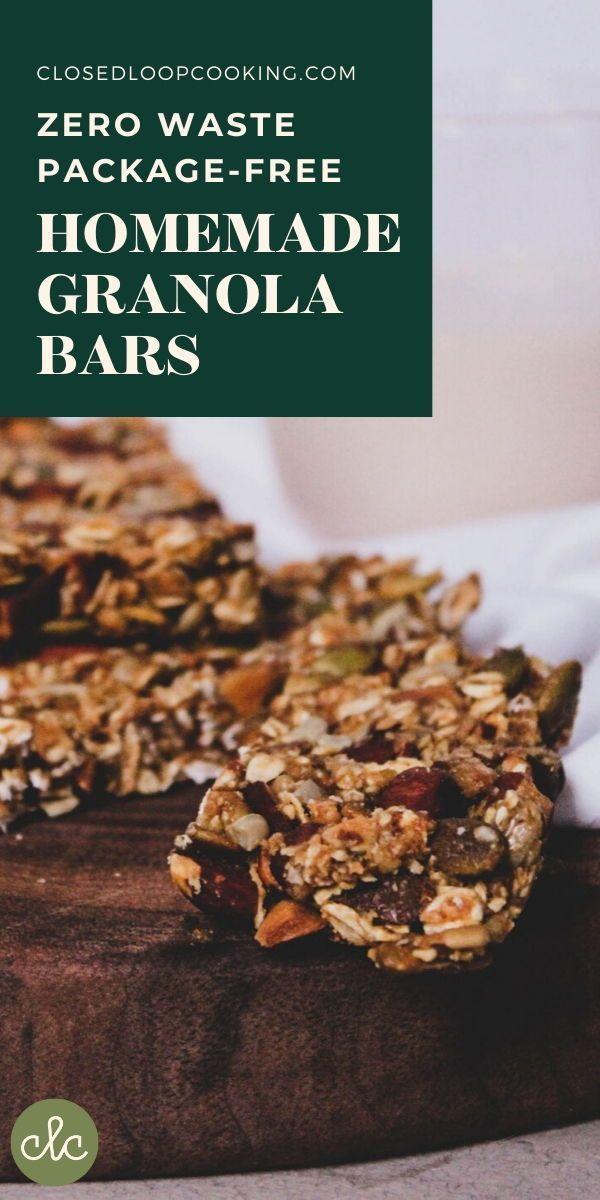 The best package-free granola bars | Closed Loop Cooking ...
