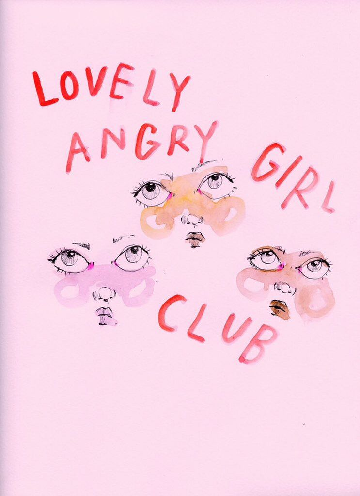 Angry Girl, Art Folder, Art Hoe, Phone Wallpapers, Girls Club, Girl Power, Awesome  Quotes, Art Prints, Products