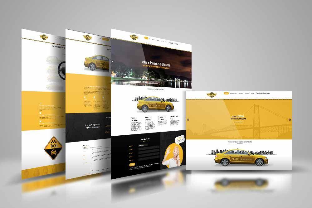 desenvolvimento de site para Top Taxi Florianopolis - www.toptaxiflorianopolis.com.br