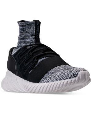 1c1db1ef92e6 adidas Men's Tubular Doom Primeknit Casual Sneakers from Finish Line ...