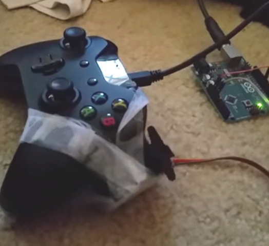 Destiny player builds an auto-leveling robot with Arduino