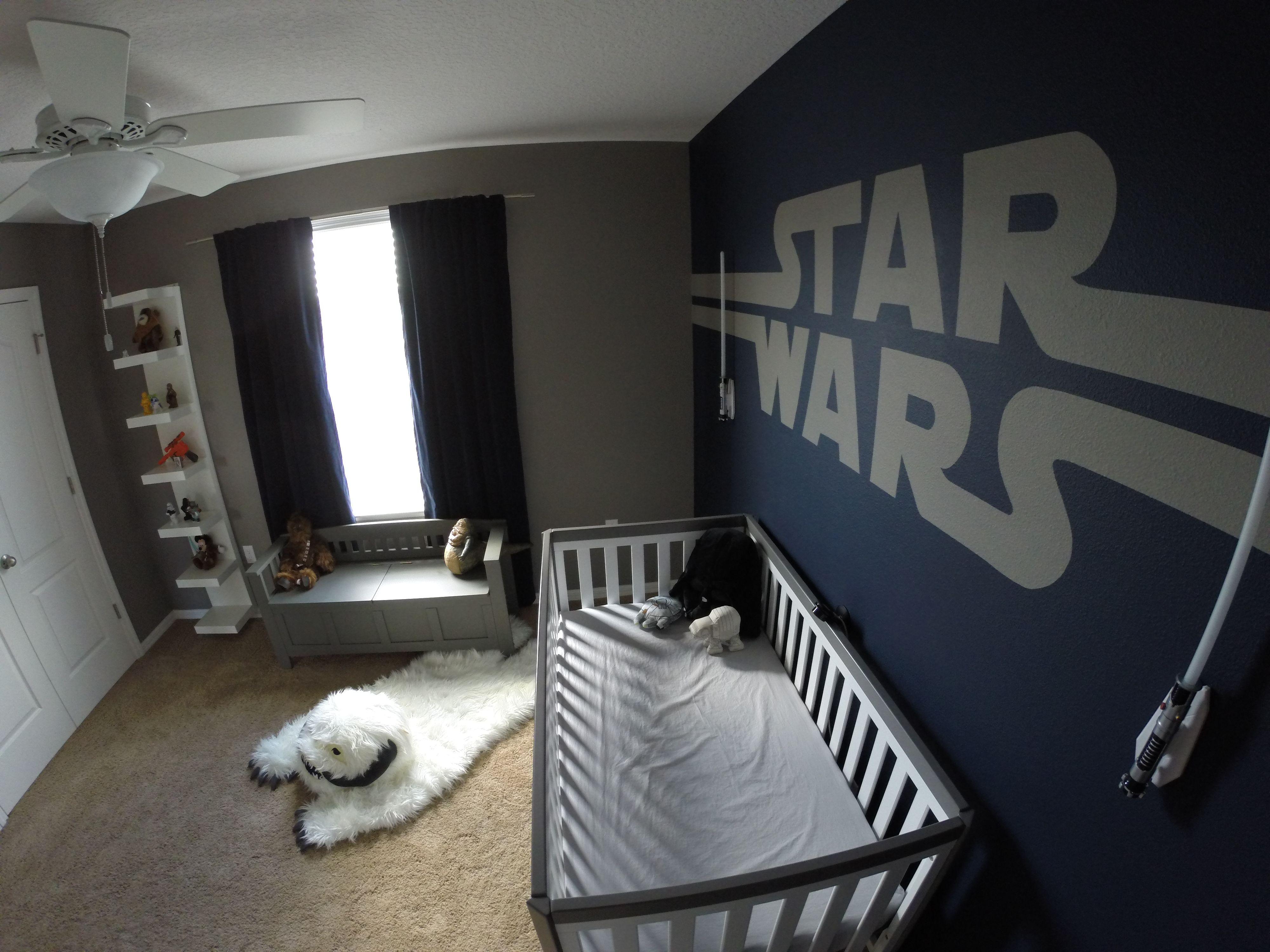 Star Wars themed nursery (Perspective #3)