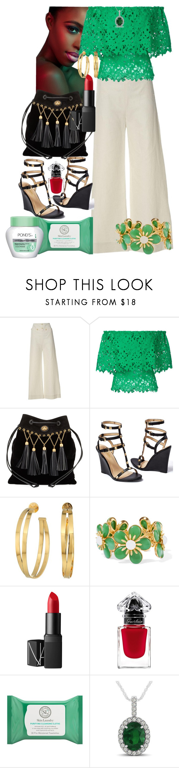 """Summer Fest"" by shirley-de-gannes ❤ liked on Polyvore featuring STELLA McCARTNEY, Bambah, Miu Miu, Venus, Tory Burch, Ben-Amun, NARS Cosmetics, Skin Laundry and Allurez"