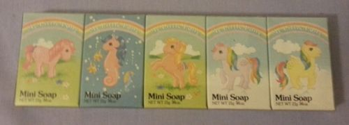 My Little Pony G1 Mini Soap Set Vintage 1984 Mini Soaps Soap Set My Little Pony