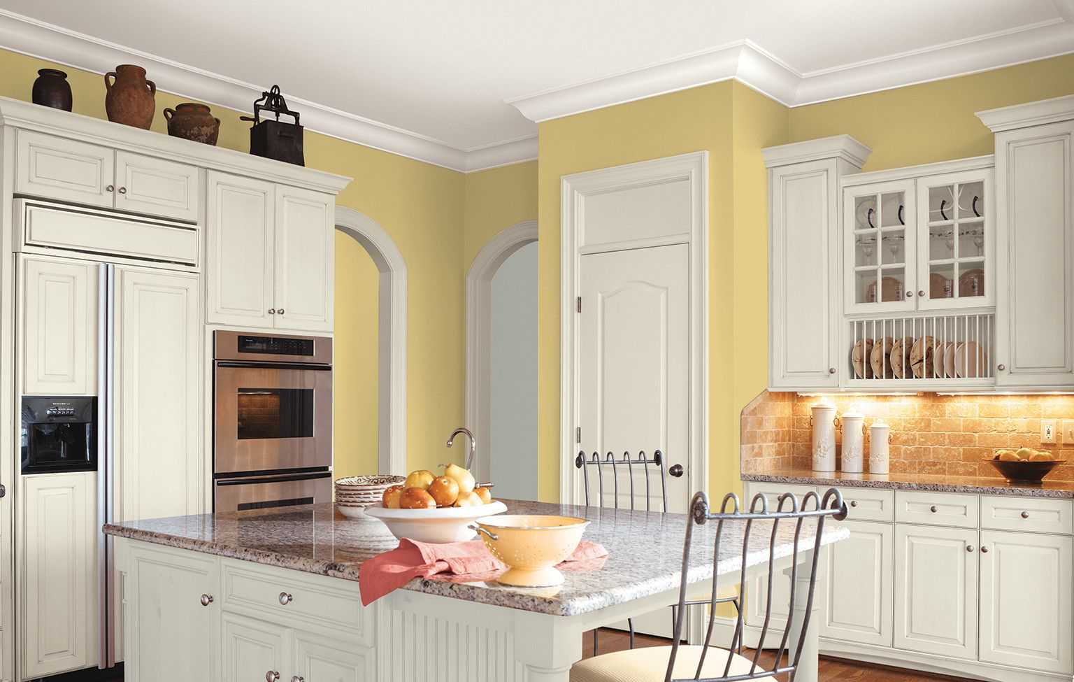 great colors for kitchens yellow kitchen decor yellow kitchen yellow kitchen inspiration on kitchen ideas yellow and grey id=47093